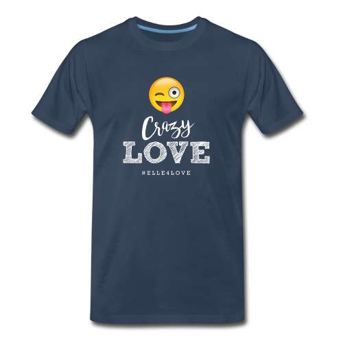 Crazy Love - Men's Premium Organic T-Shirt