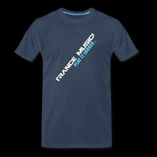 Trance Music! - Men's Premium Organic T-Shirt