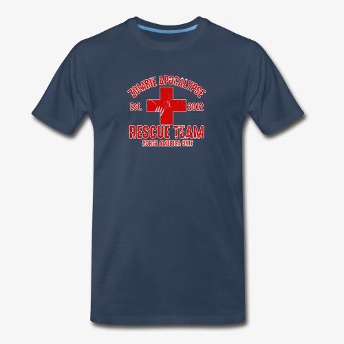 Zombie Help Team - Men's Premium Organic T-Shirt