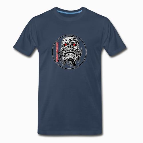 saskhoodz skull - Men's Premium Organic T-Shirt