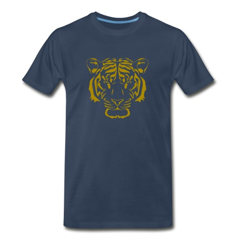Tiger head - Men's Premium Organic T-Shirt