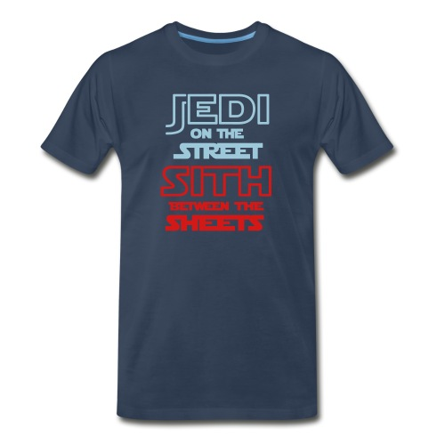 Jedi Sith Awesome Shirt - Men's Premium Organic T-Shirt
