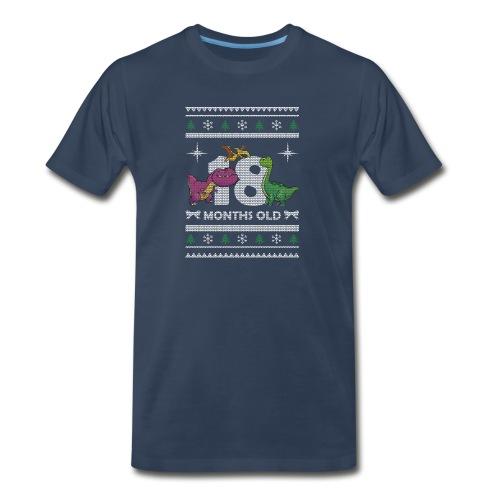 Christmas 18 months old - Men's Premium Organic T-Shirt