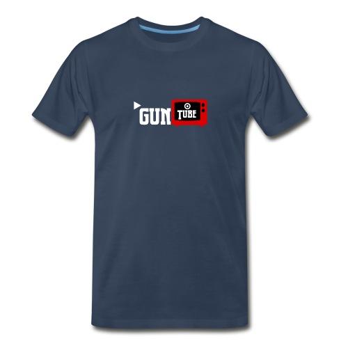 GunTube White - Men's Premium Organic T-Shirt