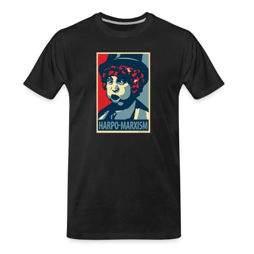 Harpo Marxism: parody of Obama poster - Men's Premium Organic T-Shirt