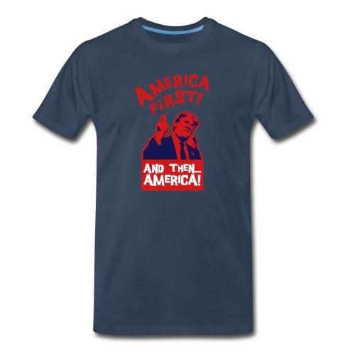 AMERICA FIRST - Men's Premium Organic T-Shirt
