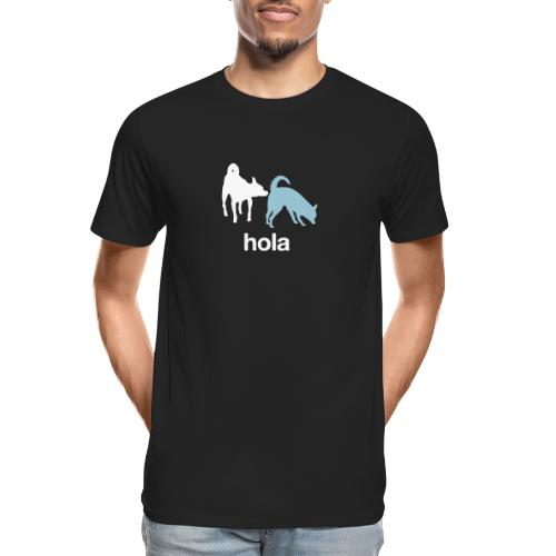 Hola - Men's Premium Organic T-Shirt