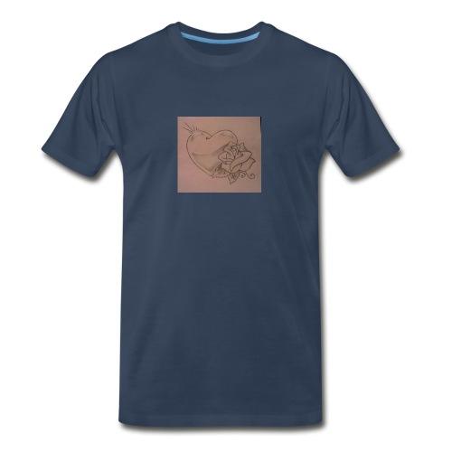 Love - Men's Premium Organic T-Shirt