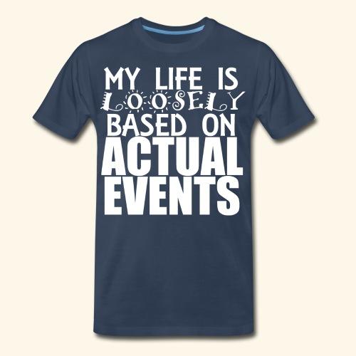 loosely based - Men's Premium Organic T-Shirt