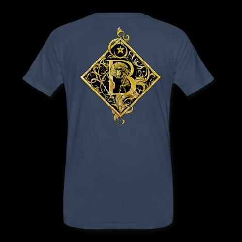 NAME STARTS WITH B MONOGRAM FANCY BEE! - Men's Premium Organic T-Shirt