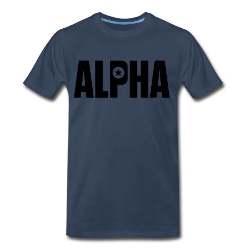 ALPHA - Men's Premium Organic T-Shirt