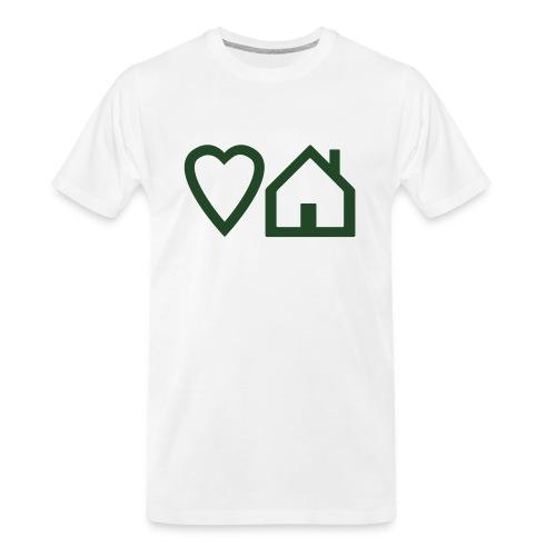 ts-3-love-house-music - Men's Premium Organic T-Shirt