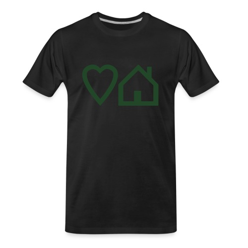 ts-3-love-house-music - Men's Premium Organic T-Shirt