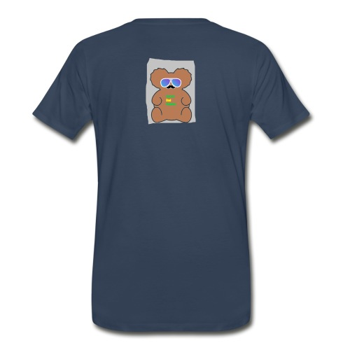 Aussie Dad Gaming Koala - Men's Premium Organic T-Shirt