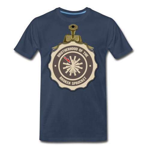 Brotherhood of the Broken Sprocket - Men's Premium Organic T-Shirt