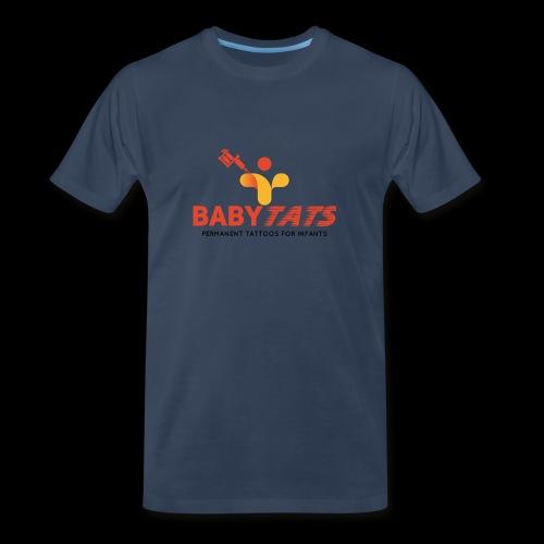 BABY TATS - TATTOOS FOR INFANTS! - Men's Premium Organic T-Shirt