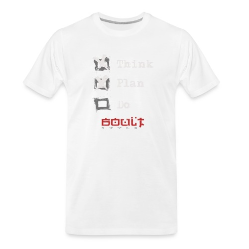 0116 Think Plan Do - Men's Premium Organic T-Shirt