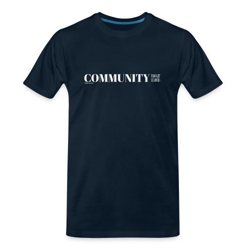 Community Thought Leaders - Men's Premium Organic T-Shirt