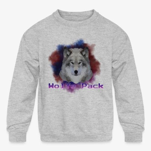 Wolfe Pack - Kids' Crewneck Sweatshirt