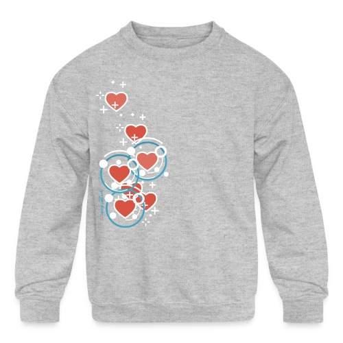 SuperHearts - Kids' Crewneck Sweatshirt