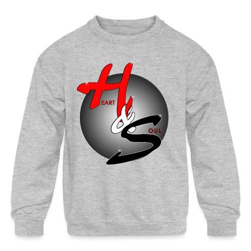Heart & Soul Concerts official Brand Logo - Kids' Crewneck Sweatshirt