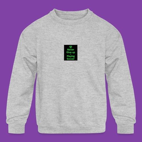 thA573TVA2 - Kids' Crewneck Sweatshirt