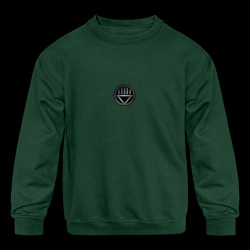 Knight654 Logo - Kids' Crewneck Sweatshirt
