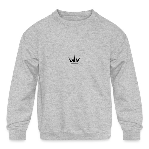 DUKE's CROWN - Kids' Crewneck Sweatshirt