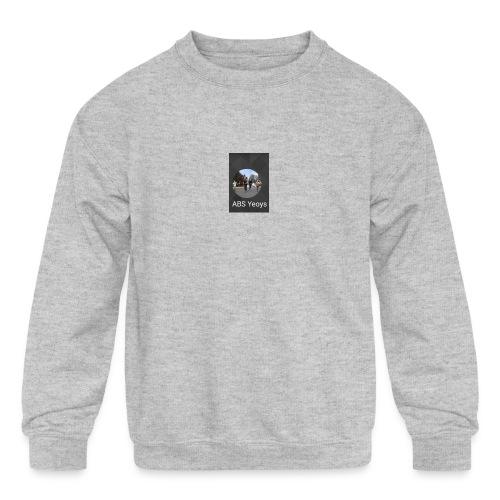ABSYeoys merchandise - Kids' Crewneck Sweatshirt