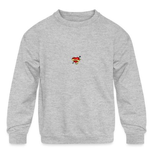 i love mom - Kids' Crewneck Sweatshirt