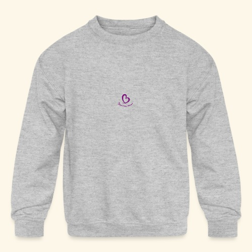 Bless Your Heart® Purple - Kids' Crewneck Sweatshirt