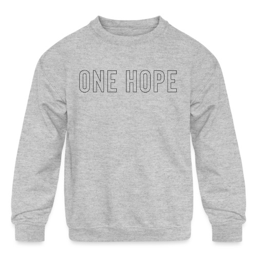 ONE HOPE - Kids' Crewneck Sweatshirt