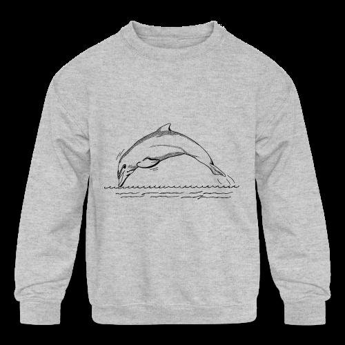 Dauphins - Kids' Crewneck Sweatshirt