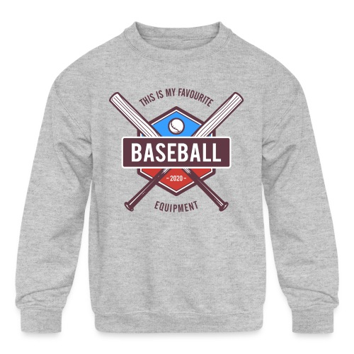 baseball - Kids' Crewneck Sweatshirt