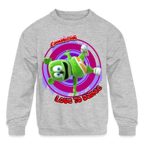 Love To Dance - Kids' Crewneck Sweatshirt