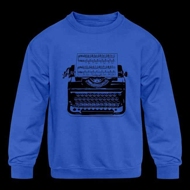 Music Type   Vintage Typewriter