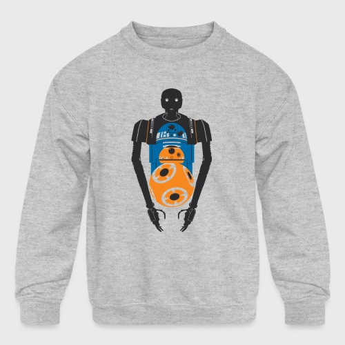Star Wars Rogue One The Droids You're Looking For - Kids' Crewneck Sweatshirt