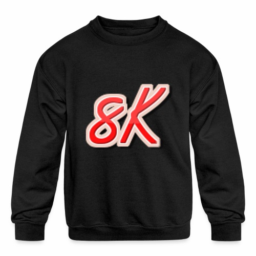 8K - Kids' Crewneck Sweatshirt