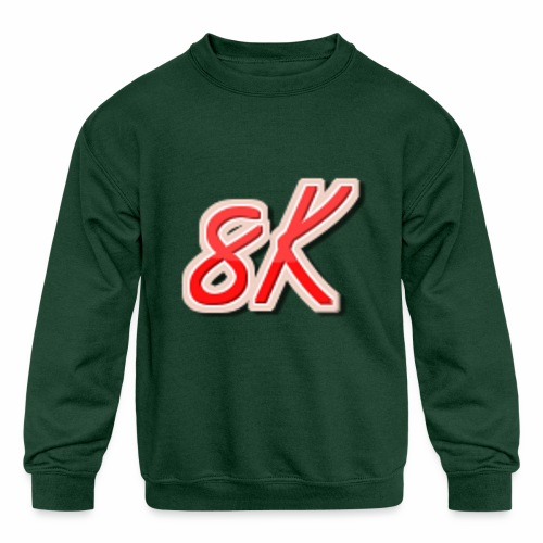 8K - Kids' Crewneck Sweatshirt