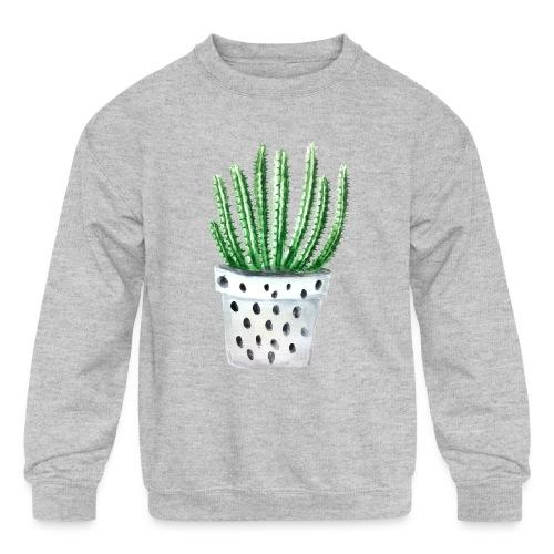 Cactus - Kids' Crewneck Sweatshirt