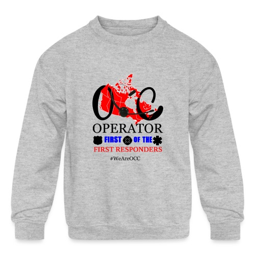 We Are OCC english - Kids' Crewneck Sweatshirt