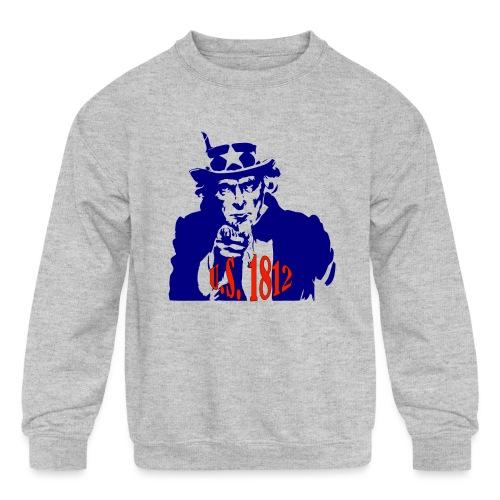 uncle-sam-1812 - Kids' Crewneck Sweatshirt