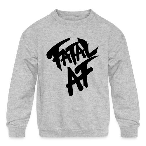 fatalaf - Kids' Crewneck Sweatshirt