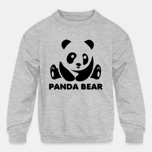 panda bear - Kids' Crewneck Sweatshirt
