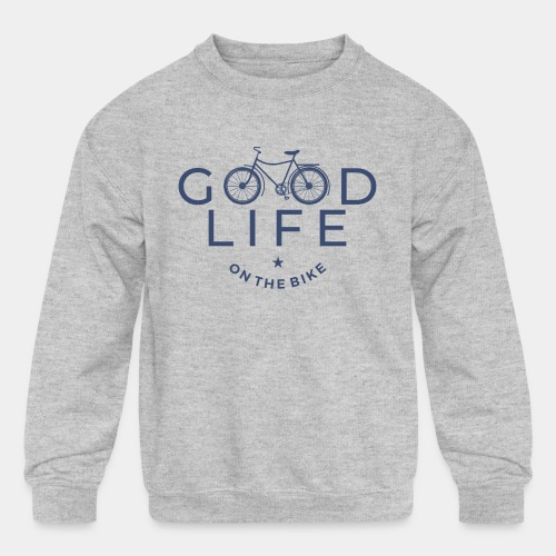 bike - Kids' Crewneck Sweatshirt