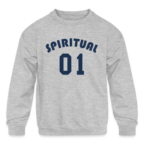 Spiritual One - Kids' Crewneck Sweatshirt
