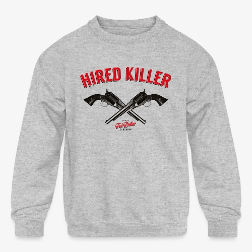 Hired Killer - Kids' Crewneck Sweatshirt
