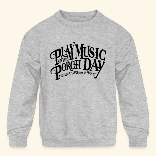 shirt4 FINAL - Kids' Crewneck Sweatshirt