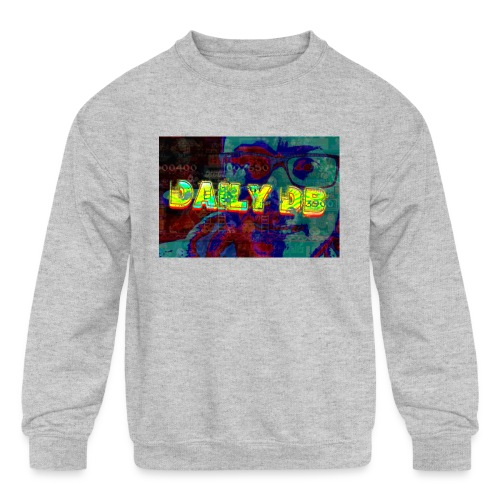 daily db poster - Kids' Crewneck Sweatshirt