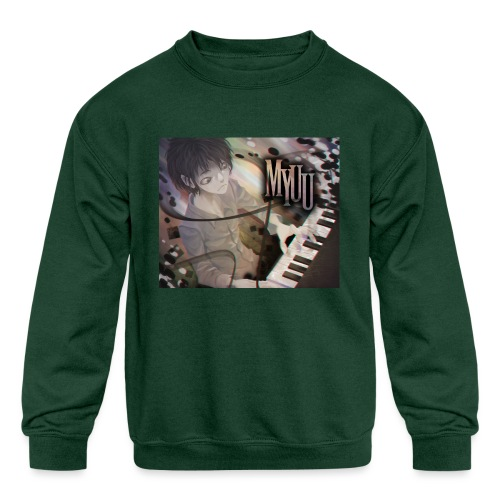 Dark Piano 1 - Kids' Crewneck Sweatshirt